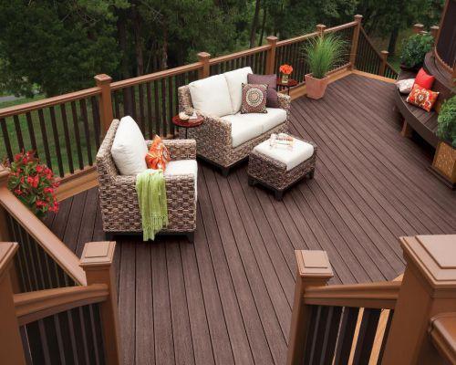 gỗ nhựa composite làm sàn ngoài trời